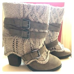 Naughty Monkey Boots NWT size 9
